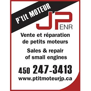 Logo du P'tit Moteur JP