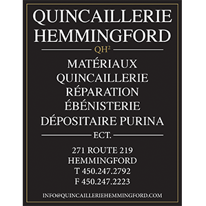 Logo of Hemmingford Hardware Store