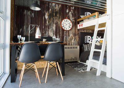 chambre intérieur coolbox - Camping canne de bois